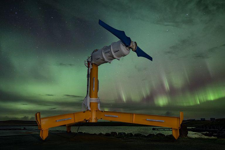 Nova Innovation's 'Eunice' model turbine
