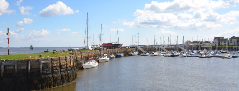 Tayport Harbour was one recipient of Crown Estate funds distributed by Fife Council.
