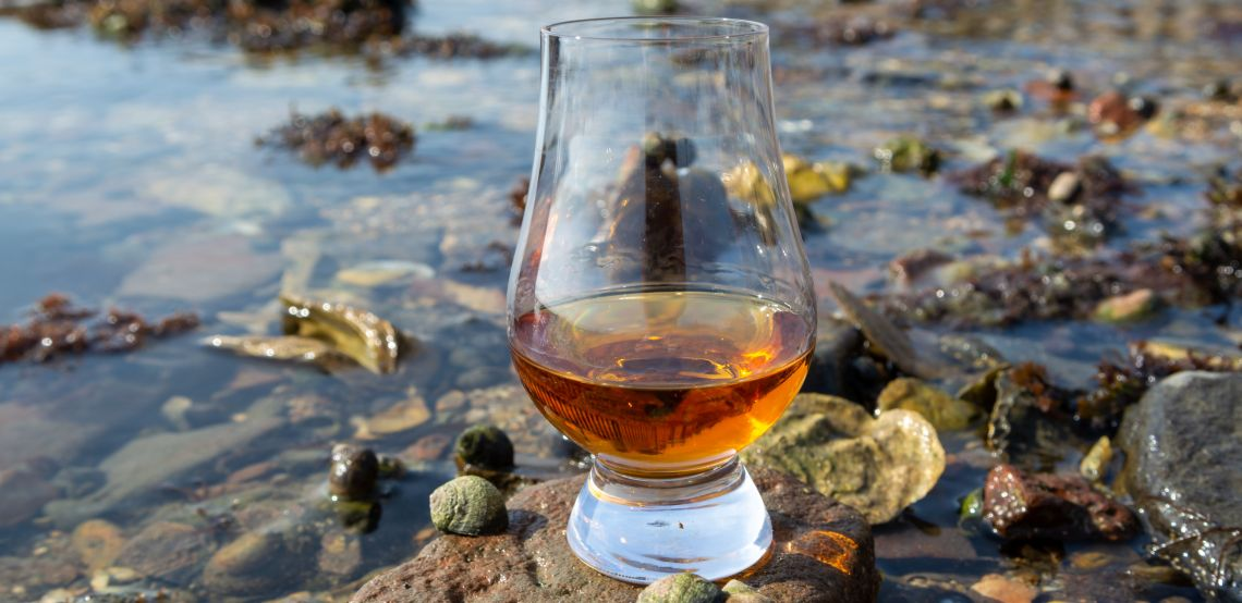Whisky and seawater: an unlikely pair, until now