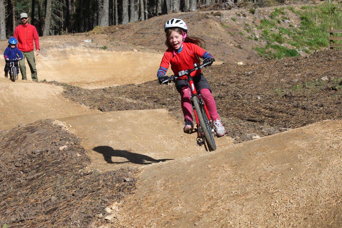 Pump track at Glenlivet